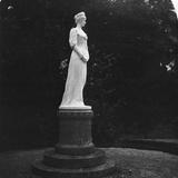 Statue of Elizabeth of Russia (1709-176), Salzburg, Austria, 1900s Reproduction photographique par  Wurthle & Sons
