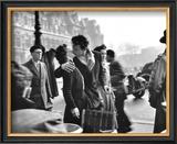 Le Baiser de l'Hotel de Ville, Paris, 1950 Posters by Robert Doisneau