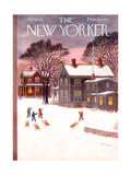 The New Yorker Cover - March 1, 1952 Giclée-tryk af Edna Eicke