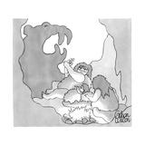 New Yorker Cartoon Reproduction giclée Premium par Gahan Wilson