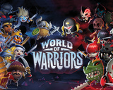 World Of Warriors Characters Stampe