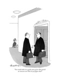 """You would rather let a guilty man go free than punish an innocent one Ho…"" - New Yorker Cartoon Premium Giclee Print by J.B. Handelsman"