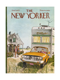 The New Yorker Cover - June 9, 1973 Giclee Print by Charles Saxon