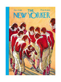 The New Yorker Cover - October 27, 1928 Premium Giclee-trykk av Peter Arno