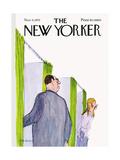 The New Yorker Cover - November 4, 1972 Premium Giclee Print by James Stevenson