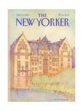 The New Yorker Cover - July 12, 1982 Giclée-Premiumdruck von Iris VanRynbach