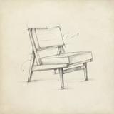 Mid Century Furniture Design I Affiches par Ethan Harper
