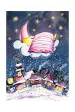 Sleeping Moon Posters van  DannyWilde