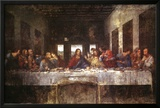 The Last Supper, c. 1498 ポスター : レオナルド・ダ・ヴィンチ