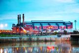 Lucas Oil Stadium in Indianapolis Fotografisk trykk av  andreykr