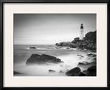 Maine, Portland, Portland Head Lighthouse, USA Framed Photographic Print by Alan Copson