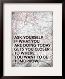 Ask Your Self Posters by Jace Grey