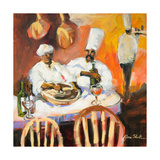 A Touch of Spice I Premium Giclee Print by Jane Slivka