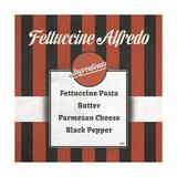 Italian Recipe I Premium Giclée-tryk af Andi Metz