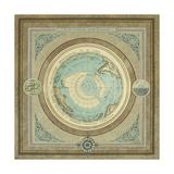 North and South Map II Giclée-Premiumdruck von Elizabeth Medley