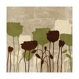Floral Simplicity II (Green) Giclée-Premiumdruck von Patricia Pinto