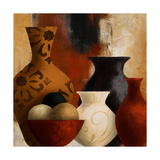 Spiced Vessels II Reproduction giclée Premium par Lanie Loreth