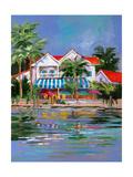 Beach Resort I Premium Giclee Print by Jane Slivka