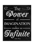 Power of Imagination Giclée-Premiumdruck