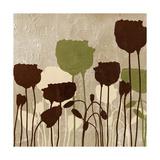 Floral Simplicity I (Green) Giclée-Premiumdruck von Patricia Pinto