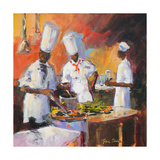 A Touch of Spice II Premium Giclee Print by Jane Slivka