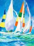 Come Sail Away Giclée-Premiumdruck von Jane Slivka
