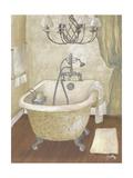 Guest Bathroom I Poster by Elizabeth Medley
