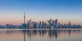 Canada, Ontario, Toronto, View of Cn Tower and City Skyline Photographic Print by Jane Sweeney
