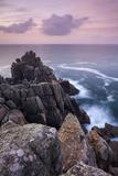 Dawn Skies Above Hella Point Near Porthgwarra, Cornwall, England. Autumn Valokuvavedos tekijänä Adam Burton
