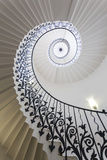 Spiral Staircase, the Queen's House, Greenwich, London, UK Photographic Print by Peter Adams