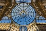 Main Glassy Dome of the Galleria Vittorio Emanuele Ii, Milan, Lombardy, Italy Photographic Print by Stefano Politi Markovina