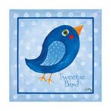 Blue Bird Premium Giclée-tryk af Elizabeth Medley