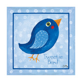 Blue Bird Premium Giclee Print by Elizabeth Medley