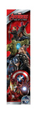 The Avengers: Age of Ultron - Vertical Design - Iron Man, Captain America, Thor, Hulk, Black Widow Print