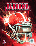 University of Alabama Crimson Tide Helmet Composite Photo