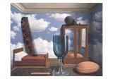 Les Valeurs Personnelles Plakater af Rene Magritte