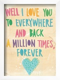 Everywhere And Back Posters by Paula Mills