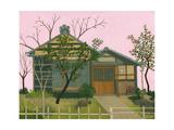 Tokyo House, 2011 Impressão giclée por Megan Moore