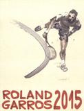 Roland Garros Stampe di Du Zhenjun