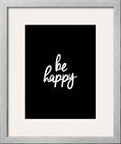 Be Happy Pôsters por Brett Wilson