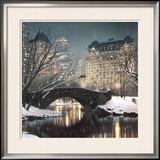 Crepúsculo no Central Park Pôsteres por Rod Chase