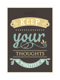 Keep Your Thoughts Giclée-Premiumdruck
