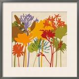 Colorful Bloom II 高品質プリント : エリン・ラング