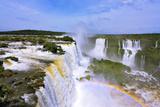 The Roaring Waterfalls in South America - Iguazu Fotoprint av Kushnirov Avraham