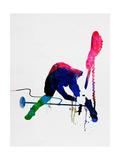 Joe Watercolor Kunstdrucke von Lora Feldman