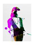 Freddie Watercolor Plakater af Lora Feldman
