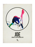 Joe Watercolor Affiches par David Brodsky