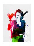 Santana Watercolor Plakater av Lora Feldman