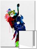 Slash Watercolor Poster von Lora Feldman