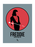 Freddie Poster by David Brodsky